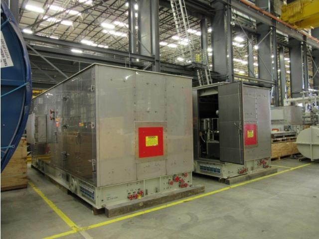 1200kw, 1800rpm, Saturn 20 Turbine Generator Set and ancillary parts, Qty 2