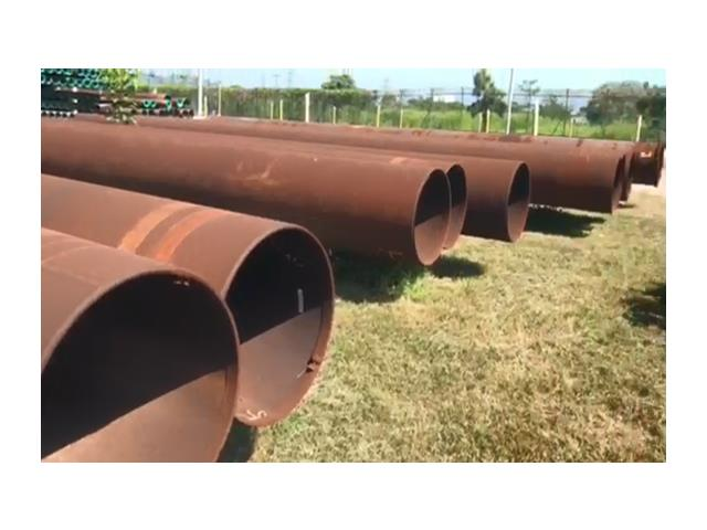 30in Pipe Conductor, 196.26#, .0625WT, Grade X-56, Range 3, PE, DSAW, Approx 380 ft, USED