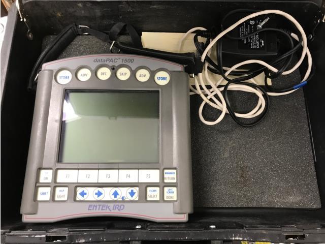 Image -Entek IRD DataPac 1500 Vibration Analyzer. SN 0112175, Qty 1