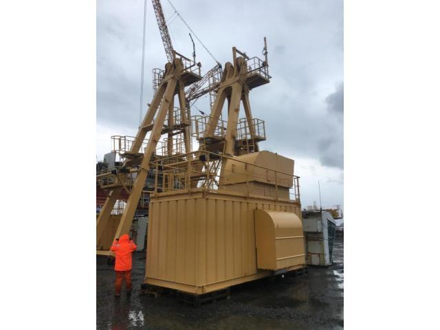 Image -40Ton, Liebherr-Werk Nenzing GmbH, BOS-4200-40-LITRONIC, Offshore Luffing Deck Crane, Qty 1