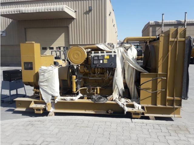 Caterpillar, 3508, Diesel, 2525kw, 480 vac, 60hz, 1925rpm, 3ph, 4.31 liter displacement, generator, qty 1