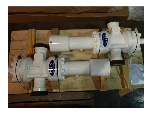3-1/16in, 10,000#, Shaffer, Hydraulic Actuated Gate Valves, with 2014 3rd Party Certification, Qty 2