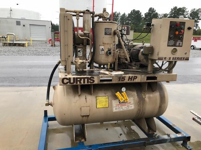 Curtis, Model 8101, 7300rpm, 217psig, Air Compressor, with Motor, Qty 1