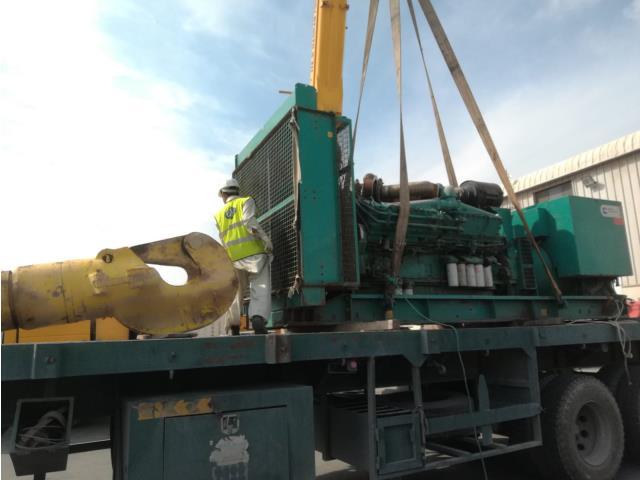 118 - Cummins, 1850hp, 480v, KTA50G3, Generator Engine complete with