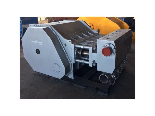 ShalePumps Q-2500 330rpm 2500hp Quintuplex Frac Pump Qty 1