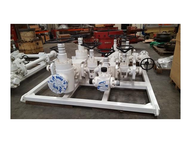 7,500psi, WOM, Standpipe Manifold, with Original Manufacture Certification, Qty 1