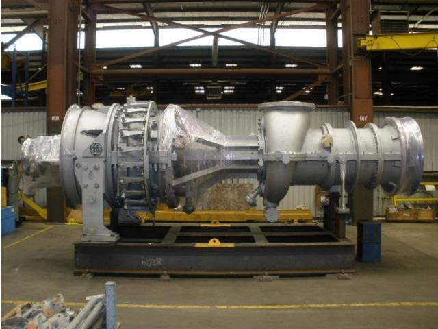 General Electric Frame 3 MS3002 7500hp Natural Gas Turbine 1 Lot