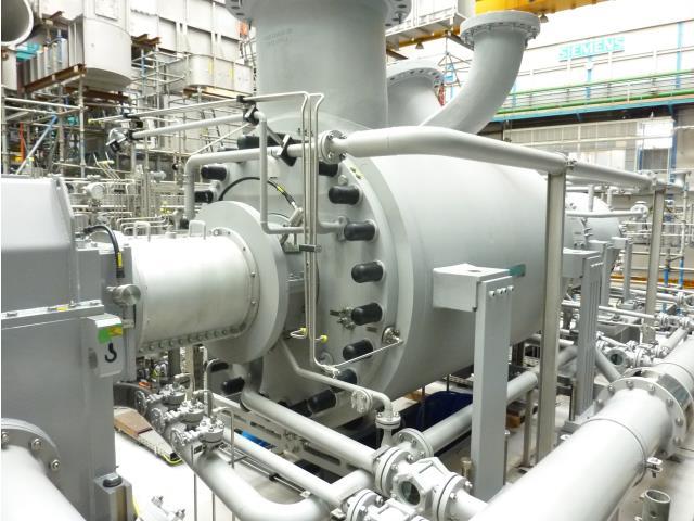 Siemens, STC-SV (12-8-B & 10-6-A), 8085rpm, Centrifugal & Axial Gas Compressors, Qty 2