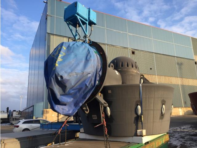 Rolls Royce, Lower Unit Underwater Mountable Aximuth Thrusters, Qty 6