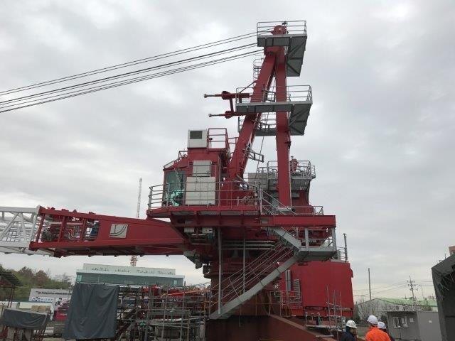 Image -47Ton Palfinger Offshore Oil Rig Crane Qty 1